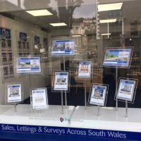 Mid West Displays Bespoke LED window display for Clee Tompkinson and Francis image