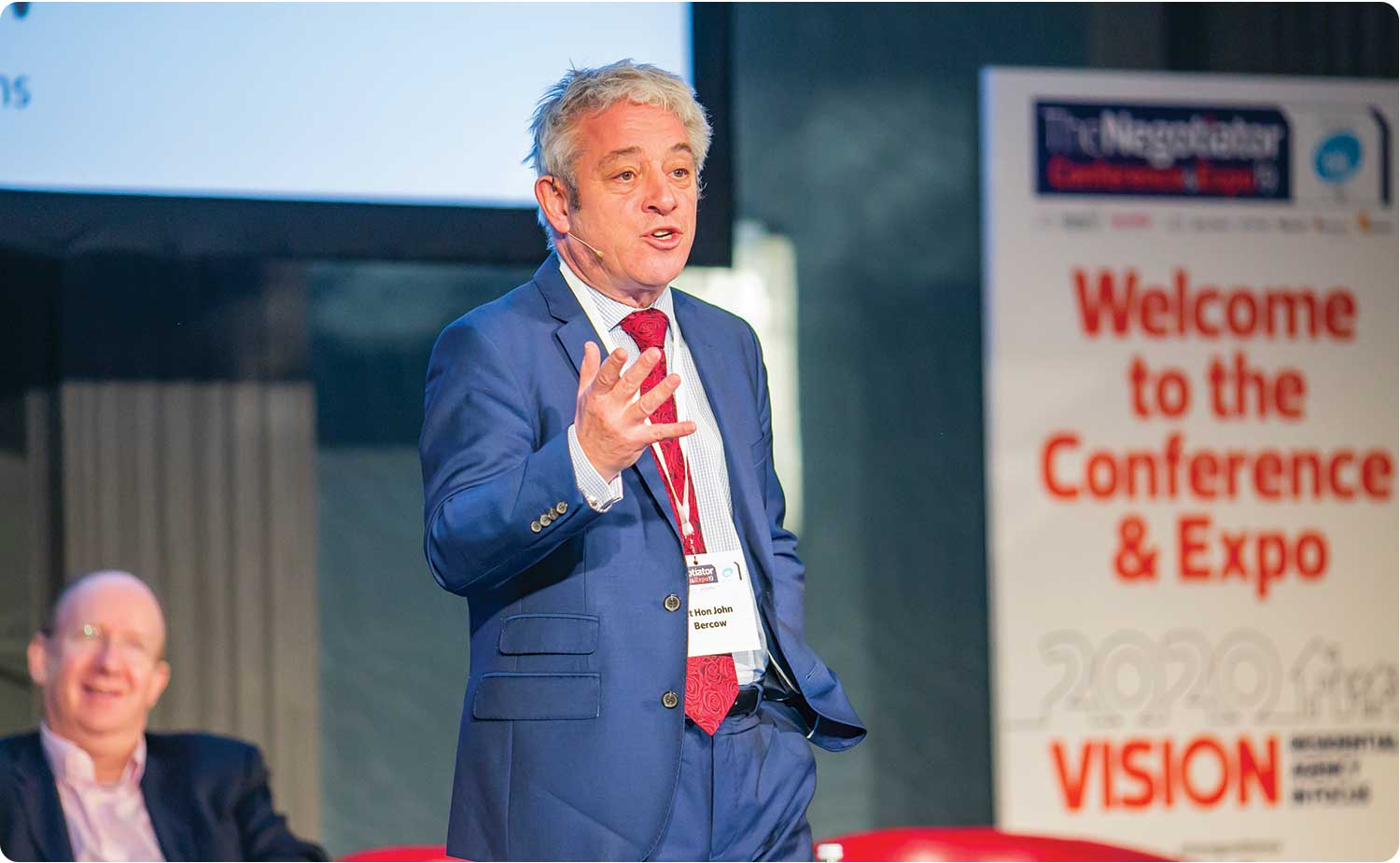 John Bercow The Negotiator Conference image